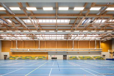PhotoConstruction d'un complexe sportif