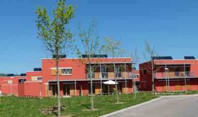PhotoEco-quartier - Construction de 20 logements bois BBC